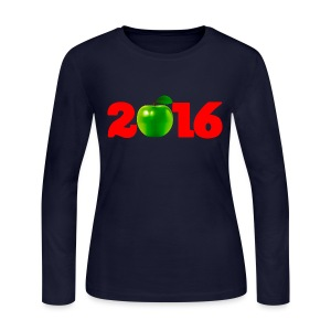 Sure as God Made Green Apples 2016 - Women's Long Sleeve Jersey T-Shirt