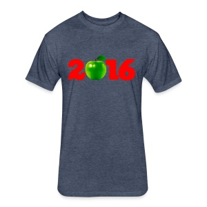 Sure as God Made Green Apples 2016 - Fitted Cotton/Poly T-Shirt by Next Level