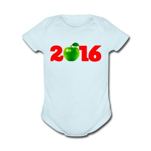 Sure as God Made Green Apples 2016 - Short Sleeve Baby Bodysuit