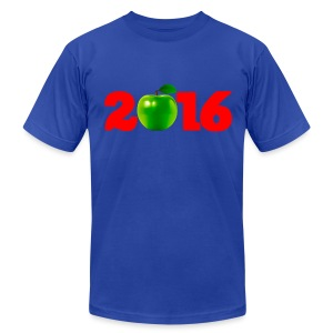 Sure as God Made Green Apples 2016 - Men's T-Shirt by American Apparel