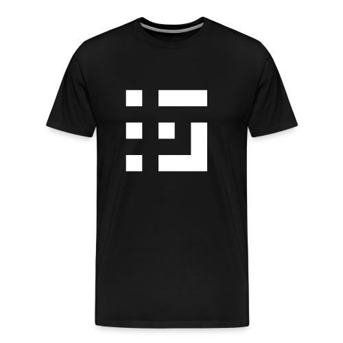 Grey Code Logo Tee - Men's Premium T-Shirt