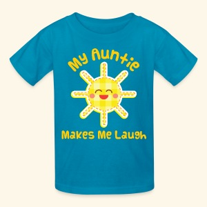My Auntie Loves Me Kids T-shirt - Kids' T-Shirt