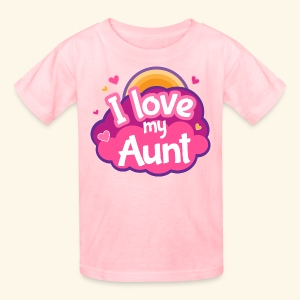 I Love My Aunt Kids T-shirt - Kids' T-Shirt