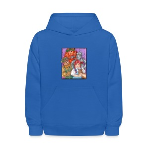 Bluebirds and Rainbows Hoodie - Kids' Hoodie