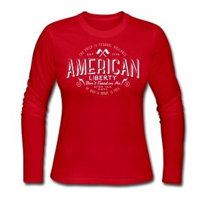 American Liberty - Women's Long Sleeve Jersey T-Shirt