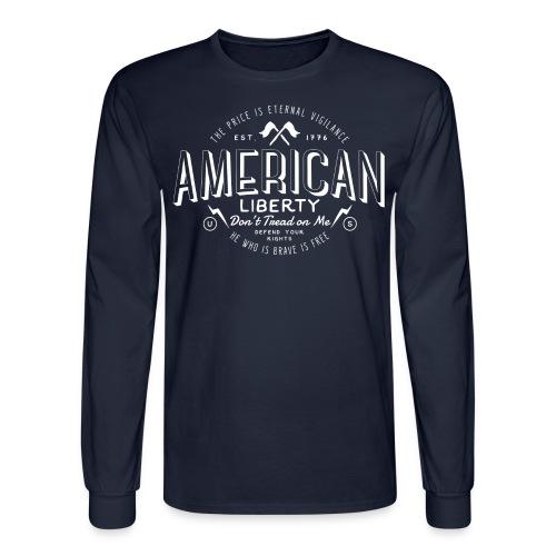 American Liberty - Men's Long Sleeve T-Shirt