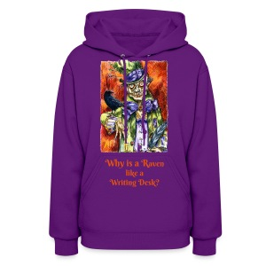 Why is a Raven - Women's Hoodie