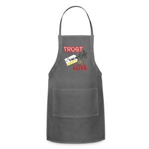 trust price tag Aprons - Adjustable Apron