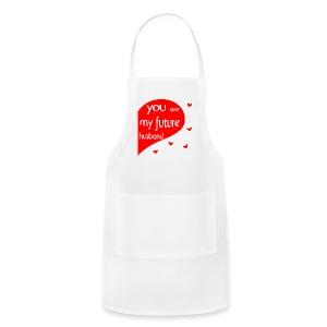 future husband Aprons - Adjustable Apron