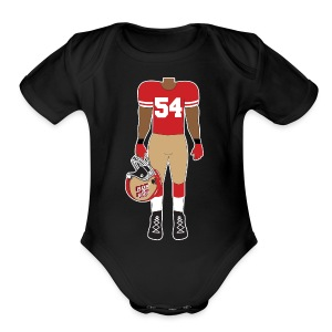 54 - Short Sleeve Baby Bodysuit