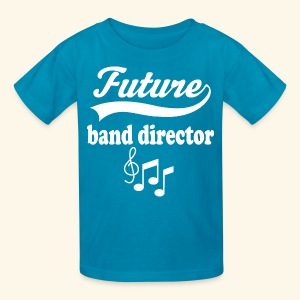 Future Band Director Kids Music T-shirt - Kids' T-Shirt