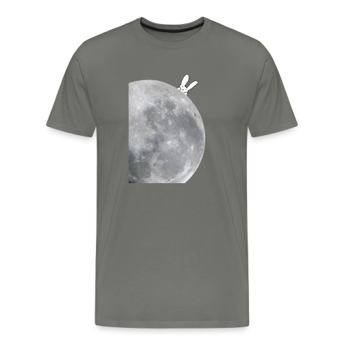 Bunny moon t-shirt - Men's Premium T-Shirt