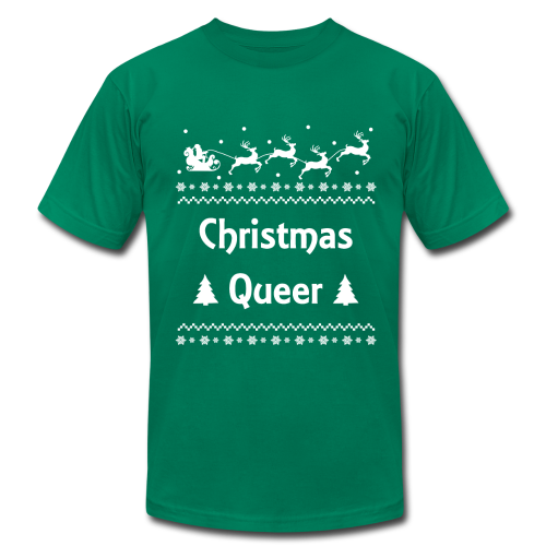 Christmas Queer Holiday Ugly Sweater LGBT Pride