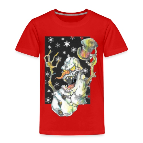 Creepmas Snowman - Toddler Premium T-Shirt