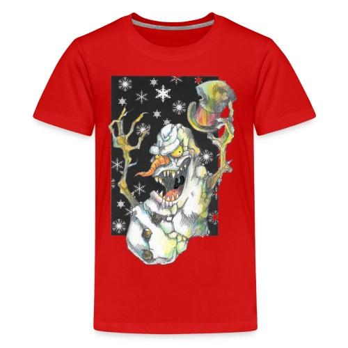 Creepmas Snowman - Kids' Premium T-Shirt