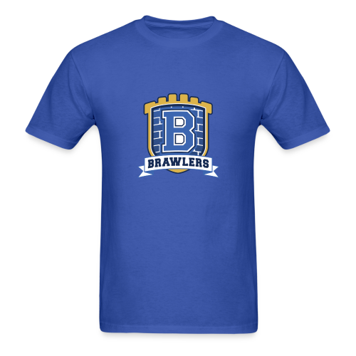 Men's T-Shirt - Brawlers Logo - Men's T-Shirt