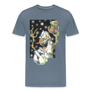 Creepmas Snowman - Men's Premium T-Shirt