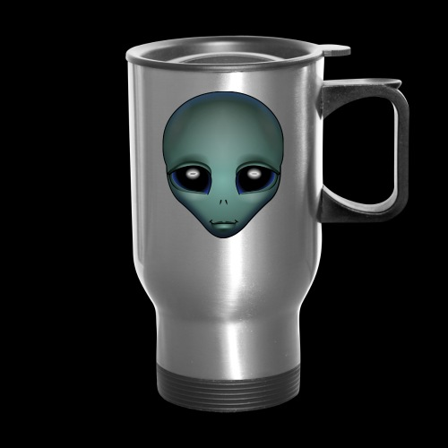 Alien Art Mugs Coffee & E.T. Cups  - Travel Mug