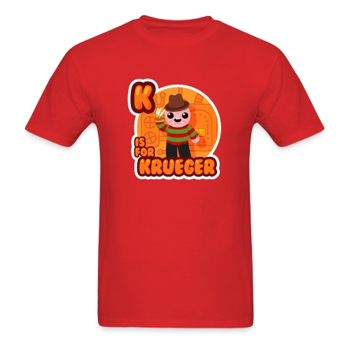 [k-is-for-krueger] - Men's T-Shirt