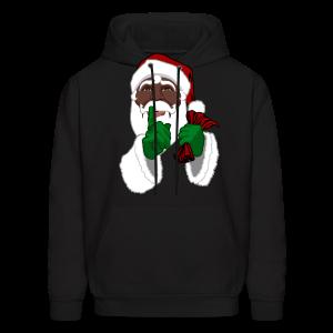 Men's African Santa Hoodie Christmas Hoodie Shirts - Men's Hoodie