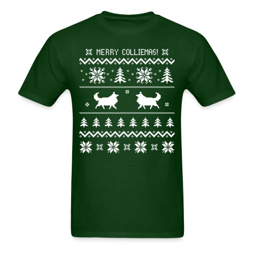 Merry Colliemas - Mens T-shirt - Men's T-Shirt