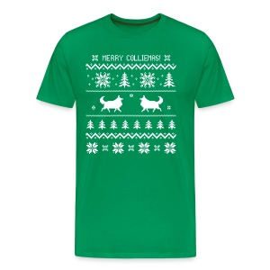 Merry Colliemas - Mens Big & Tall T-shirt - Men's Premium T-Shirt
