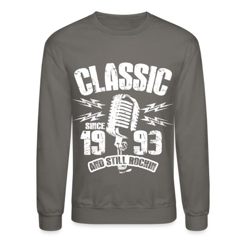 Classic Since 1993 Long Sleeve Shirts - Crewneck Sweatshirt
