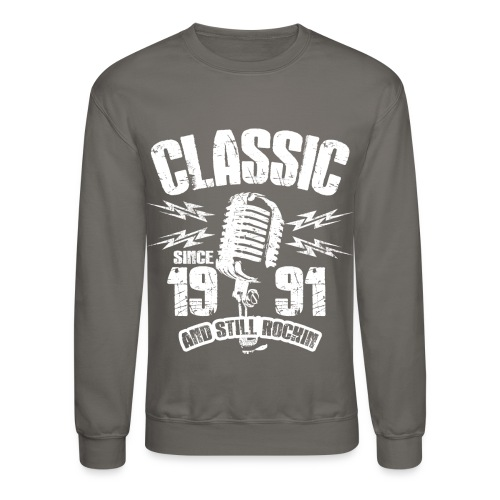 Classic Since 1991 Long Sleeve Shirts - Crewneck Sweatshirt