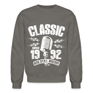 Classic Since 1992 Long Sleeve Shirts - Crewneck Sweatshirt