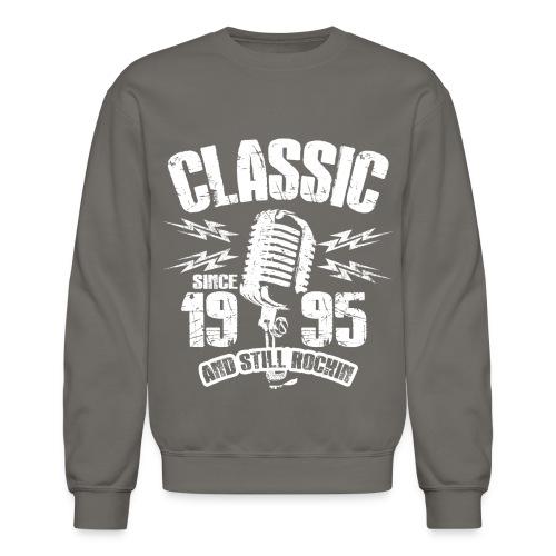 Classic Since 1995 Long Sleeve Shirts - Crewneck Sweatshirt