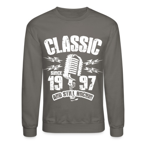 Classic Since 1997 Long Sleeve Shirts - Crewneck Sweatshirt