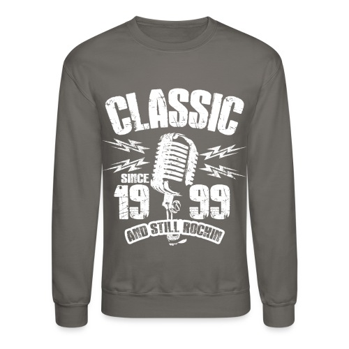 Classic Since 1999 Long Sleeve Shirts - Crewneck Sweatshirt