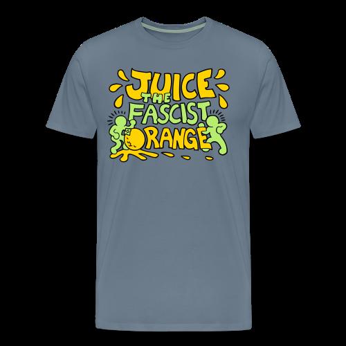 Juice the Fascist Orange - Purple - Men's Premium T-Shirt