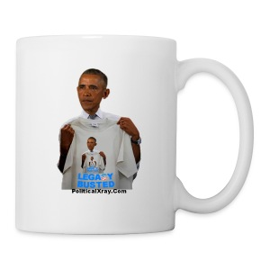 Obama Legacy Busted Mug - Coffee/Tea Mug