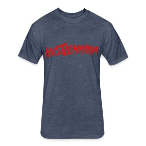 Next Level Hustlemania - Fitted Cotton/Poly T-Shirt by Next Level
