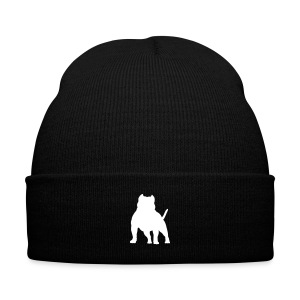 American Bully Knit Cap - Knit Cap with Cuff Print