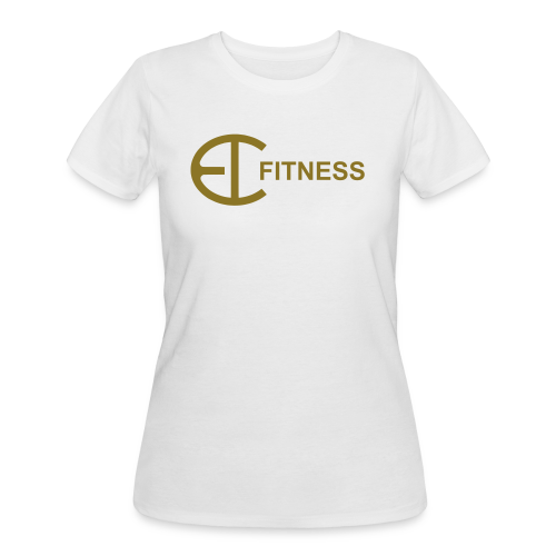 EI FITNESS-Gold T-Shirt - Women's 50/50 T-Shirt