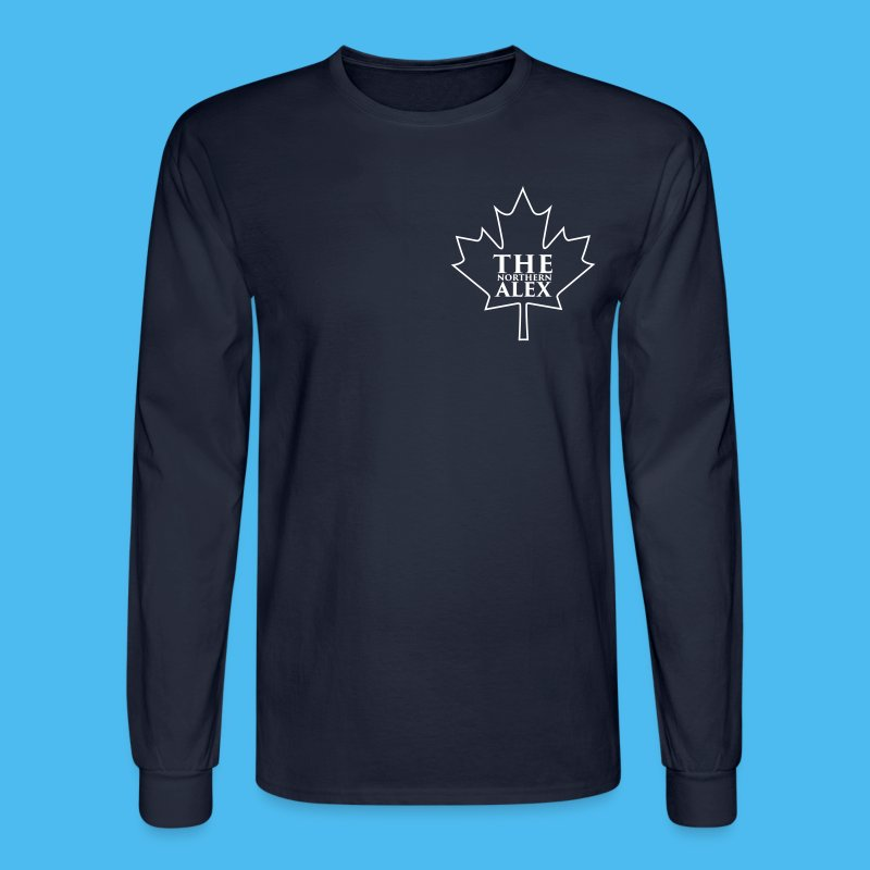 TheNorthernAlex_Logo (1) - Men's Long Sleeve T-Shirt