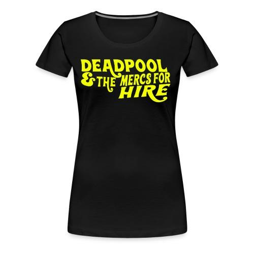 Parody of Willy Wonka Women's T-Shirt - Women's Premium T-Shirt