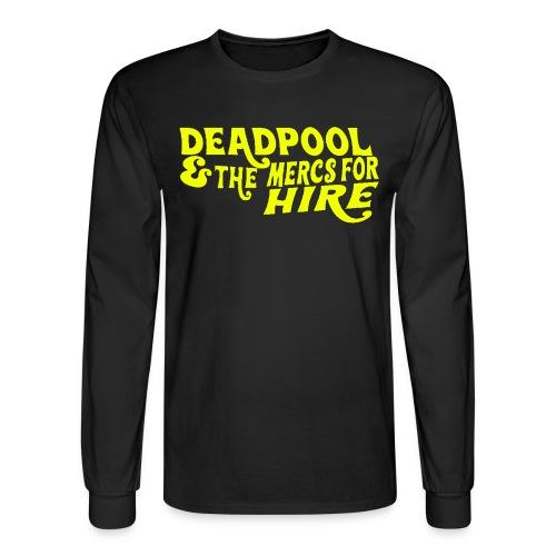 Parody of Willy Wonka Men's Long Sleeve - Men's Long Sleeve T-Shirt