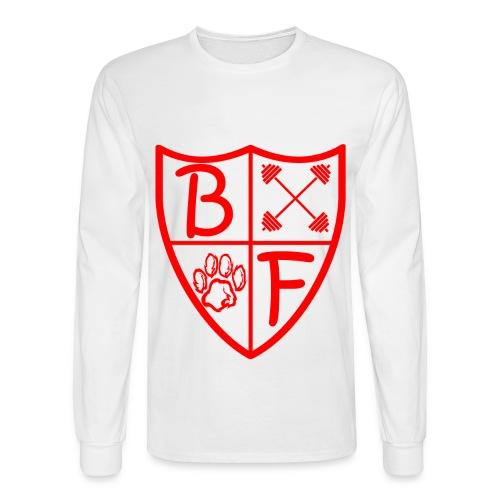 BF 1/4 Shield Long Sleeve - Men's Long Sleeve T-Shirt