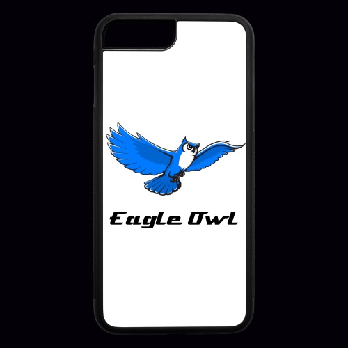 Eagle Owl Custom iPhone 7 Plus Rubber Case - iPhone 7 Plus/8 Plus Rubber Case