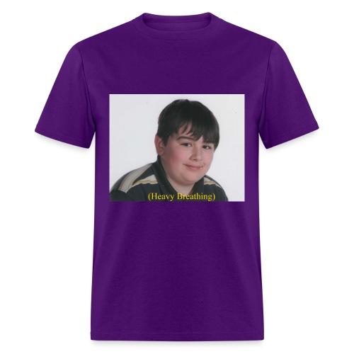 Heavy Breathing - Men's T-Shirt