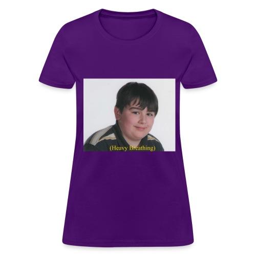 Heavy Breathing - Women's T-Shirt