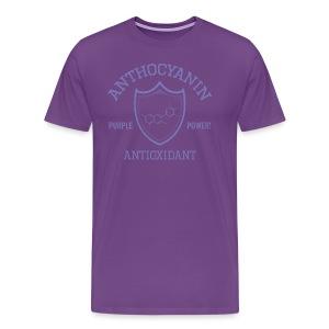 Anthocyanin Antioxidant (Pepper Power) -molecule -Premium Tee - Men's Premium T-Shirt