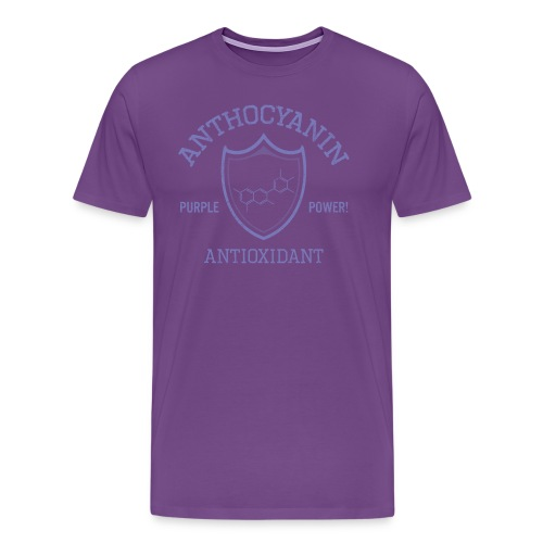 Anthocyanin Antioxidant (Pepper Power) -molecule -Premium Tee - Men's Premium T-Shirt