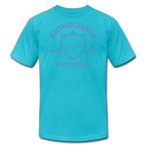 Anthocyanin Antioxidant (Pepper Power) -molecule - Men's Fine Jersey T-Shirt