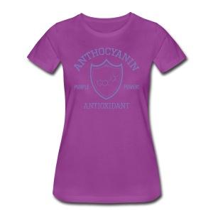 Anthocyanin Antioxidant (Pepper Power) -molecule -Premium Tee - Women's Premium T-Shirt