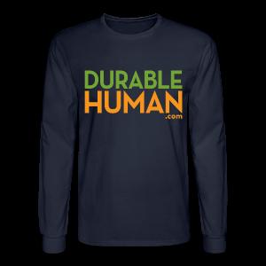 Durable Human Long Sleeve Classic T - Men's Long Sleeve T-Shirt
