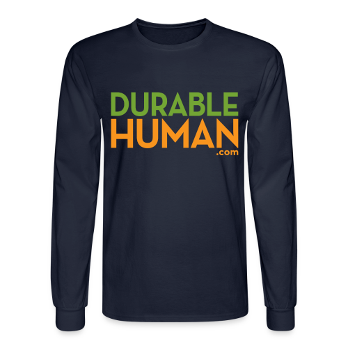 Durable Human Long Sleeve Classic T - Men's Long Sleeve T-Shirt